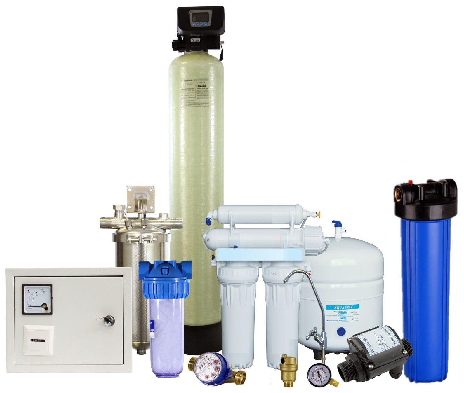 Системы водоочистки под ключ