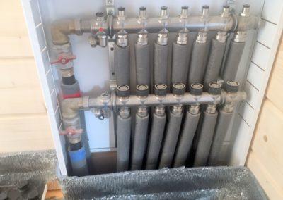 Коллекторный шкаф для радиаторов